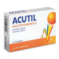 ACUTIL MULTIVITAMINICO 30CPR