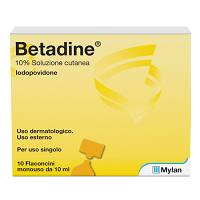 BETADINE*SOL CUT 10FL 10ML 10%