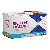 BRUFEN DOLORE*OS 24BUST 40MG