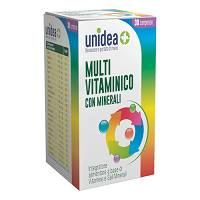 UNIDEA MULTIVITAMINICO 30CPR