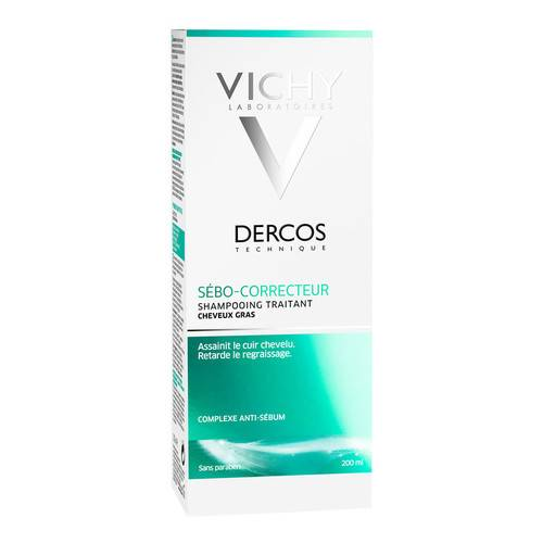 DERCOS Technique shampoo sebo regolatore 200ml