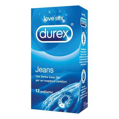 DUREX Jeans Easy-on 12 pz