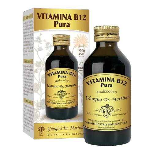 VITAMINA B12 PURA 100ML LIQ AN